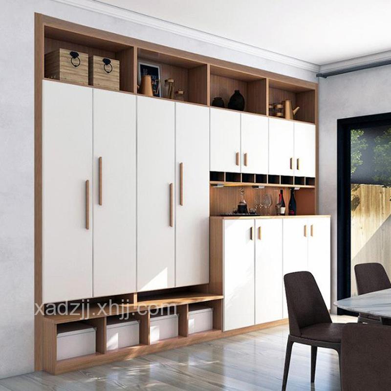 现代风格极简板材入墙