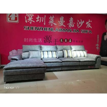轻奢双层软体沙发  极