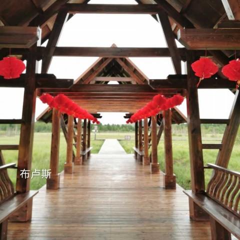 香河户外家具芬兰木葡萄架小桥定制木屋售货亭地板花架小院门楼 (36播放)