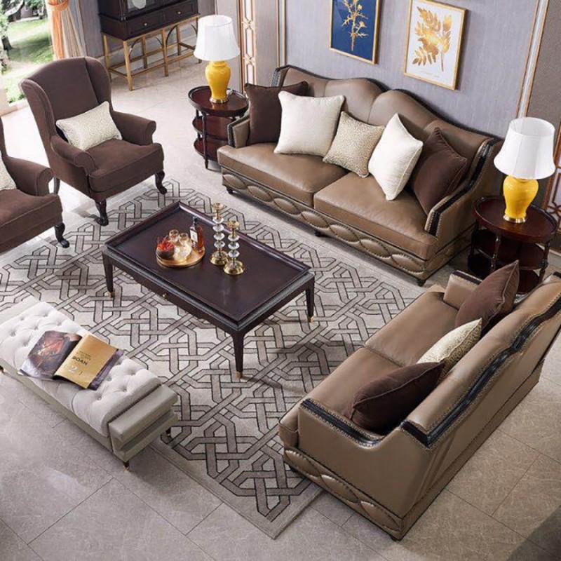 美高美轻奢时尚客厅沙发套装 沙发茶几客厅家具-8