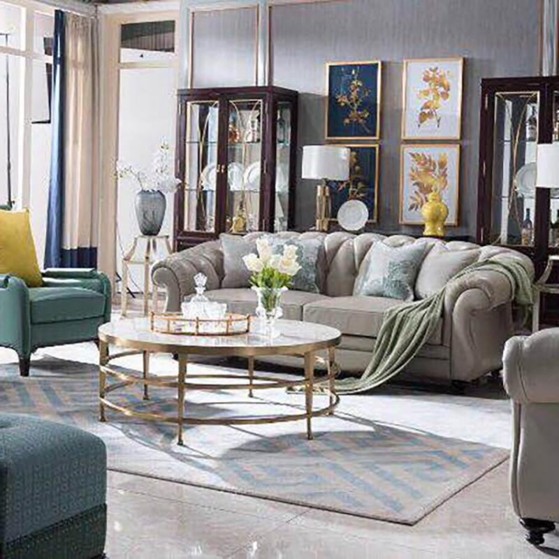 美高美轻奢时尚客厅沙发套装 沙发茶几客厅家具-12