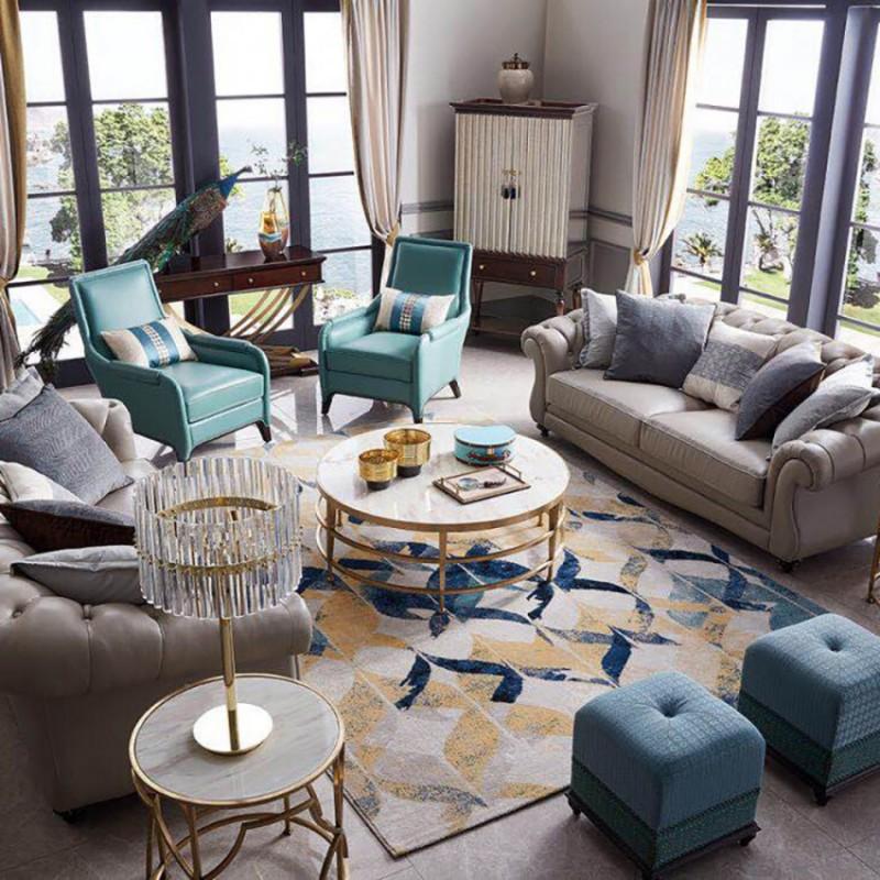 美高美轻奢时尚客厅沙发套装 沙发茶几客厅家具-15