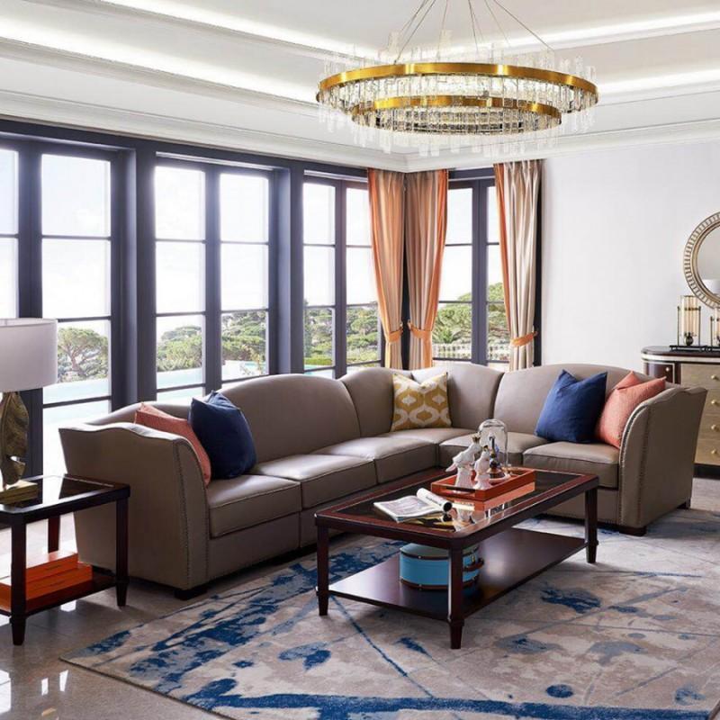 美高美轻奢时尚客厅沙发套装 沙发茶几客厅家具-17