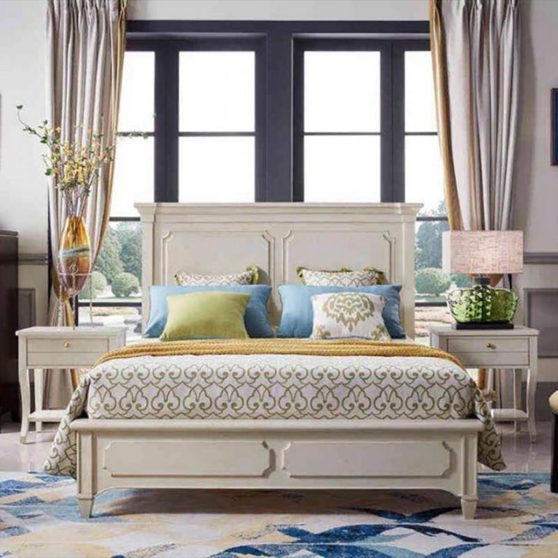 美高美轻奢时尚卧室大床卧房套  简约时尚轻奢卧室床-25
