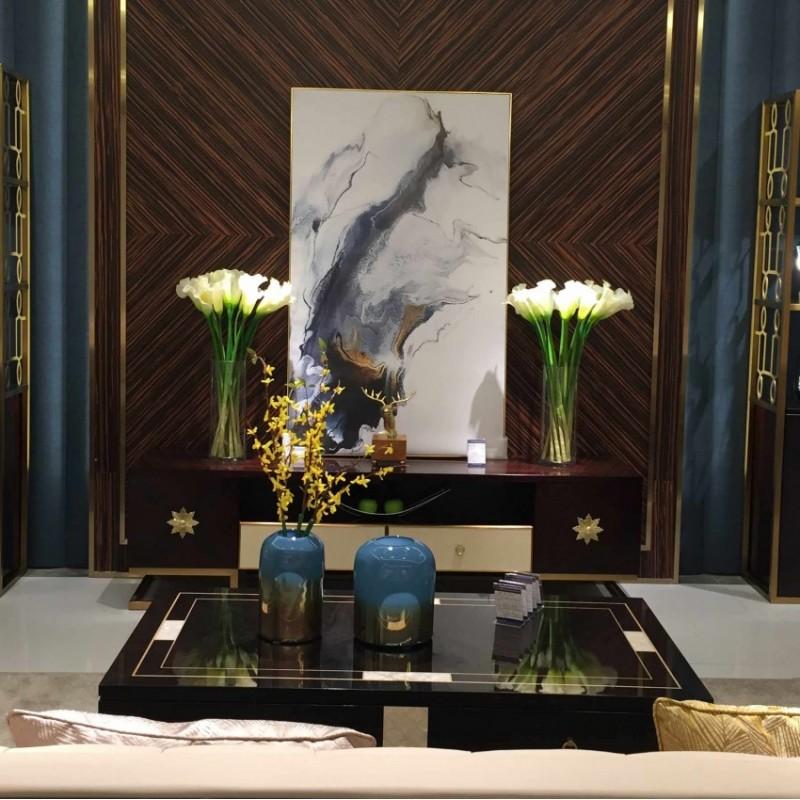 安邸轻奢客厅地柜 时尚轻奢地柜电视柜家具-Z502