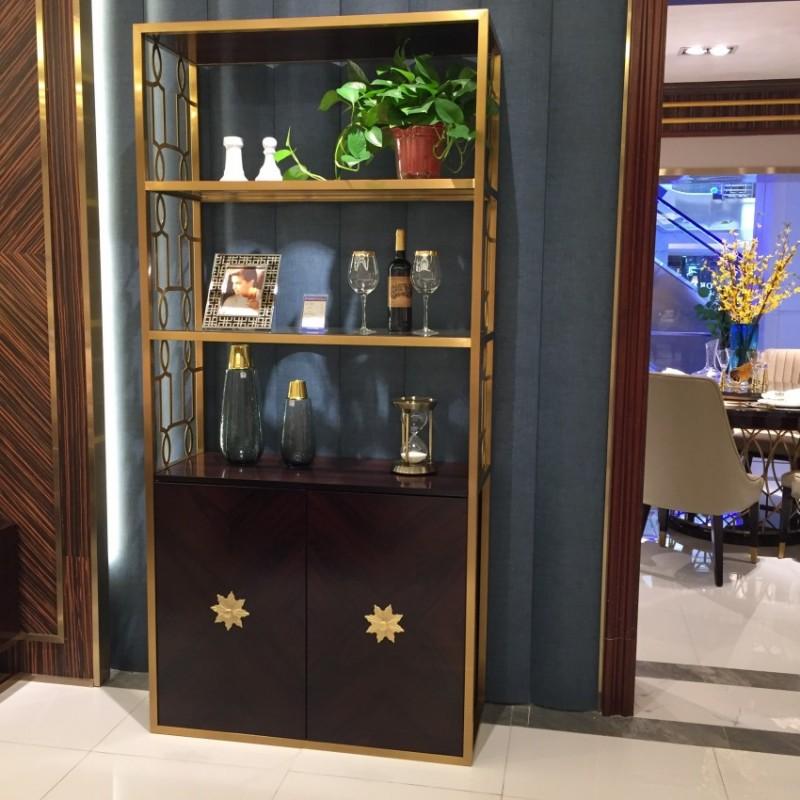 安邸轻奢客厅装饰柜门厅柜玄关柜 时尚轻奢地柜装饰柜家具-Z502