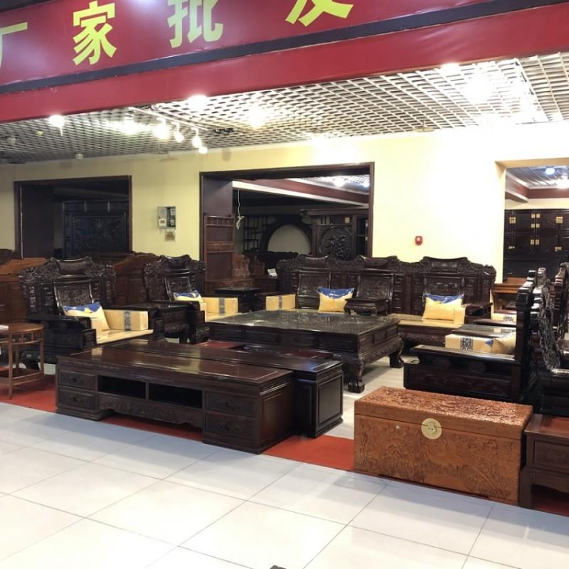 红木家具南美红酸枝 中式古典客厅沙发SF-02