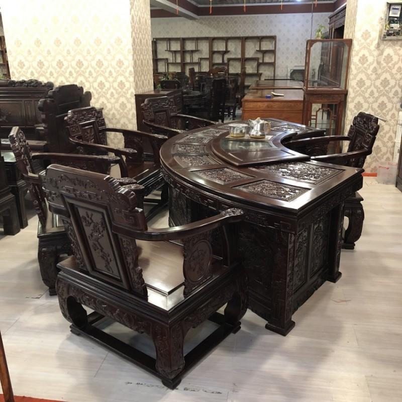 红木家具南美红酸枝茶桌椅组合CT-01