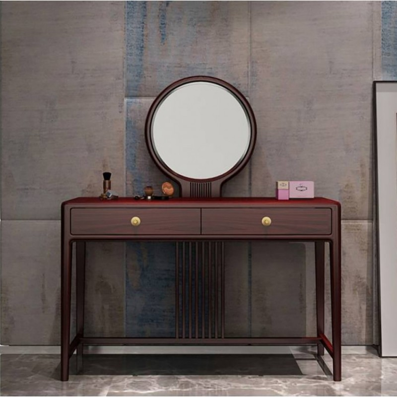 喜之林东阅卧室家具梳妆台妆镜妆凳套装 新中式家具梳妆台妆镜1