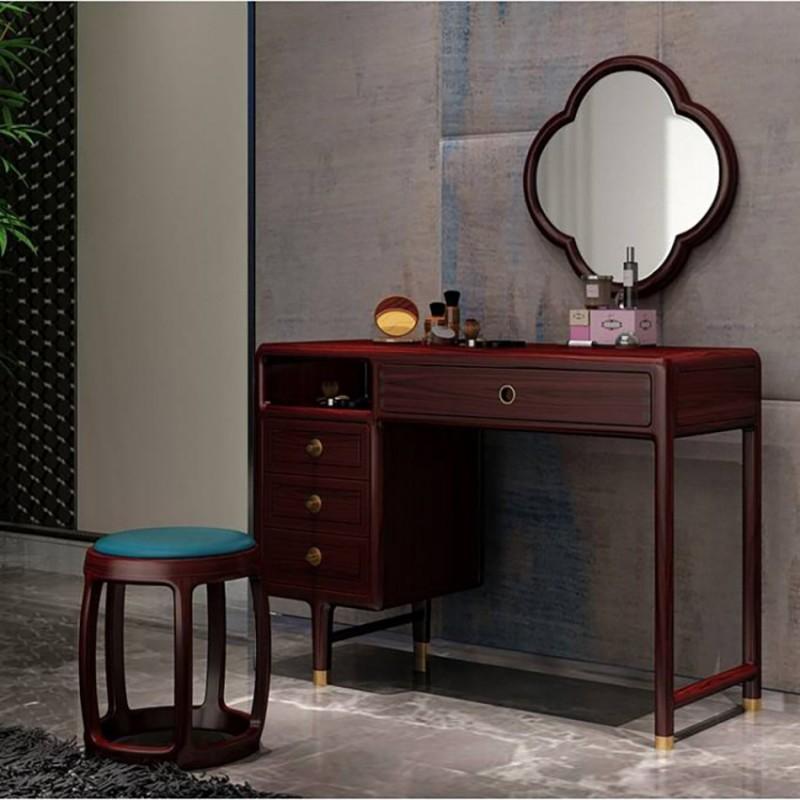 喜之林东阅卧室家具梳妆台妆镜妆凳套装 新中式家具梳妆台妆镜2