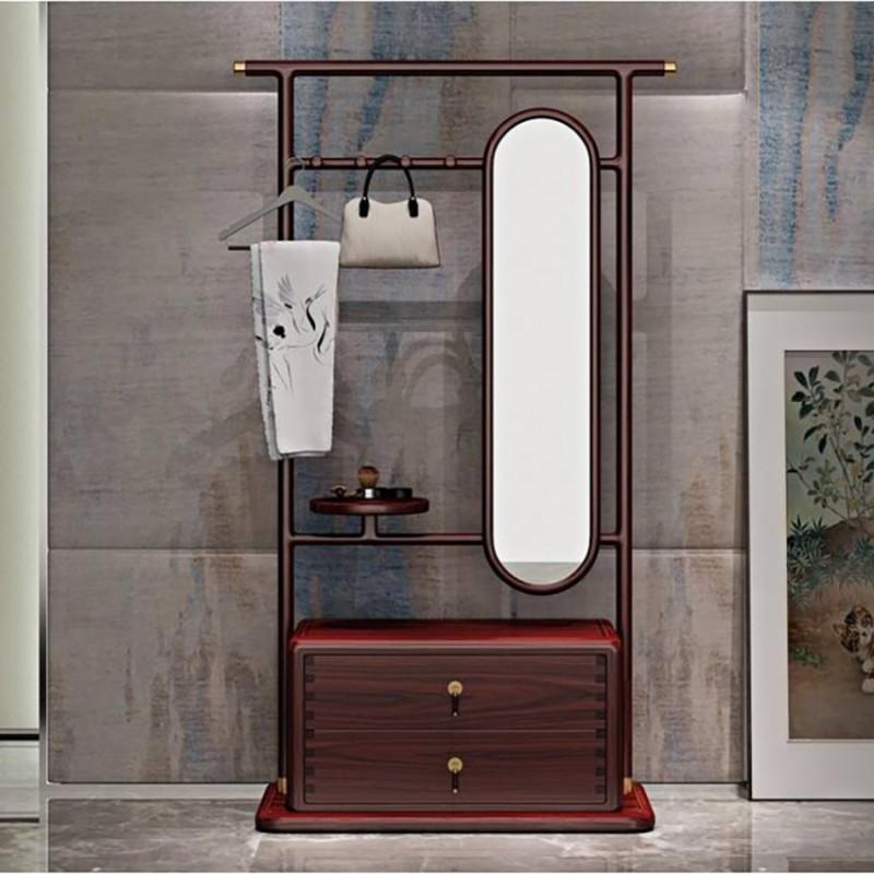 喜之林东阅卧室家具梳妆台妆镜妆凳套装 新中式家具梳妆台妆镜穿衣镜2