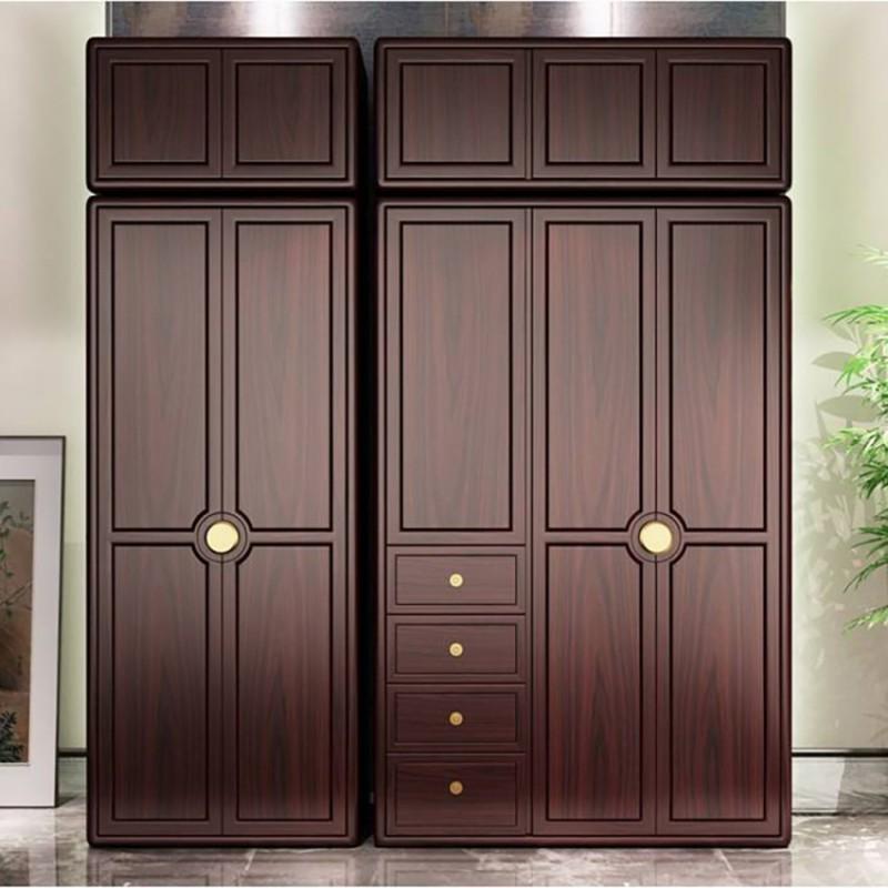 喜之林东阅新中式实木家具卧室衣柜  实木衣柜展示柜1