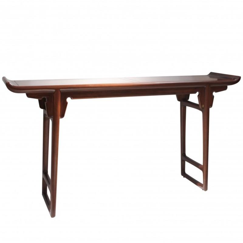 中国概念新中式实木家具长案台305P2