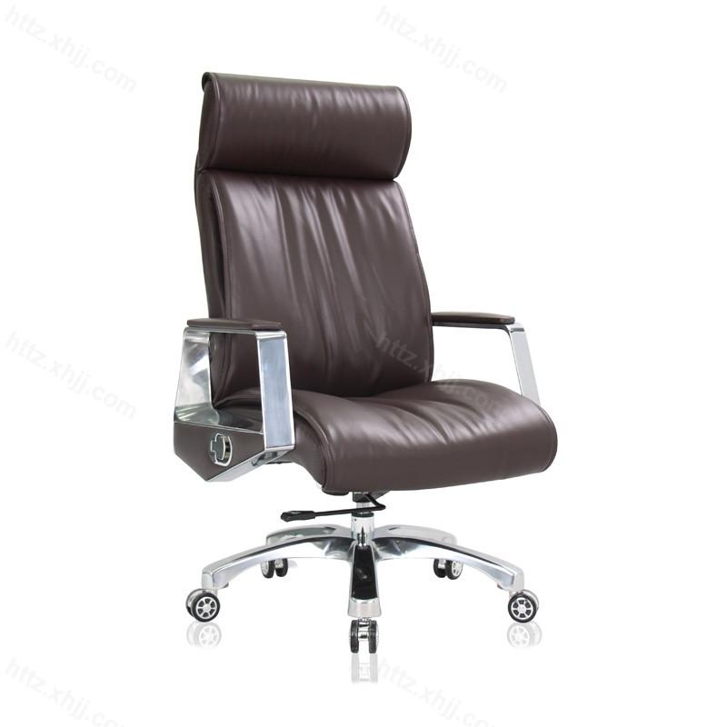 升降老板椅皮艺经理办公椅P001