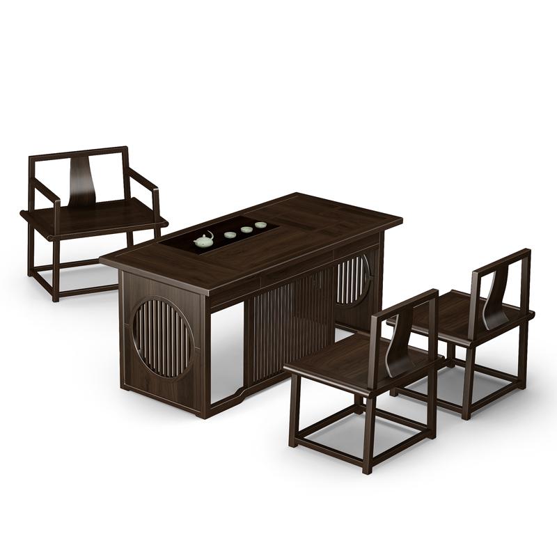 高档实木茶桌茶椅价格优惠 38#