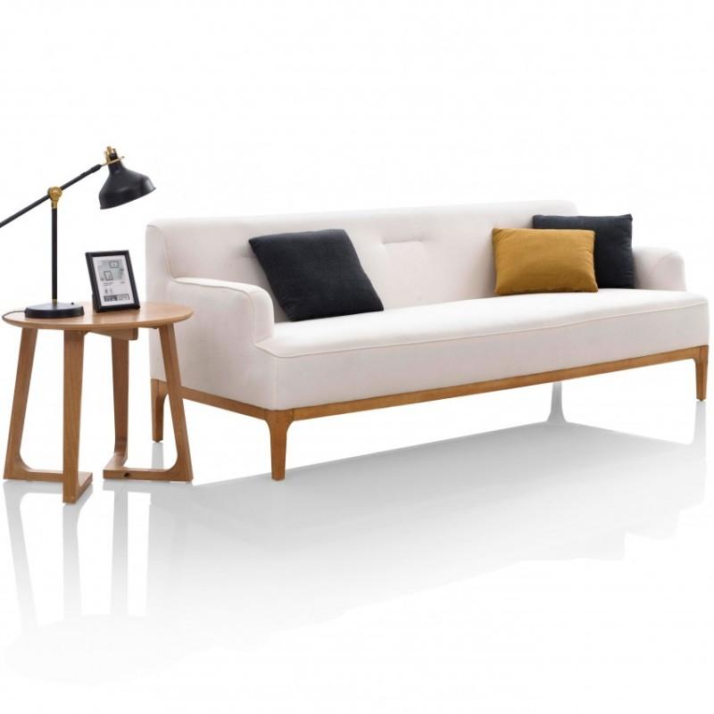 优木良匠淳系列北欧风客厅实木沙发