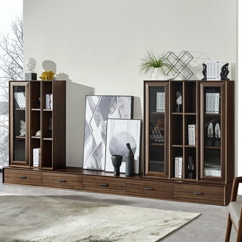 美林仕家德朗系列客厅电视柜组合柜边柜立柜DL2108