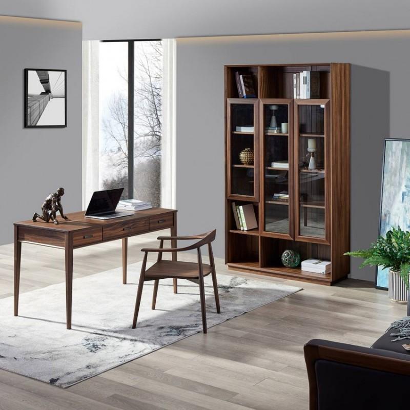 美林仕家德朗系列书房书桌椅书柜书架DL-A311