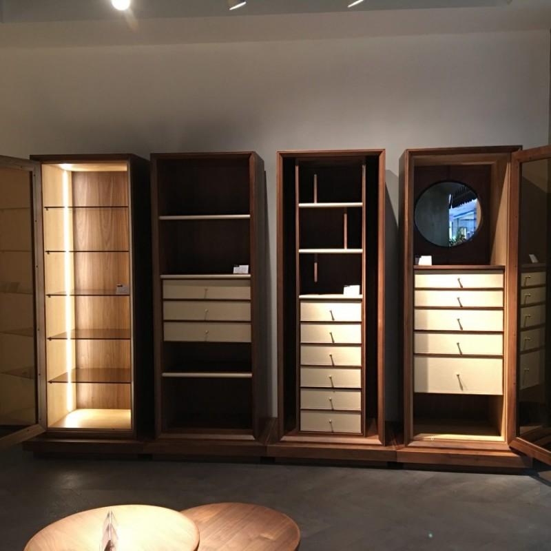 库维卡北欧风实木家具卧室衣柜组合柜衣橱