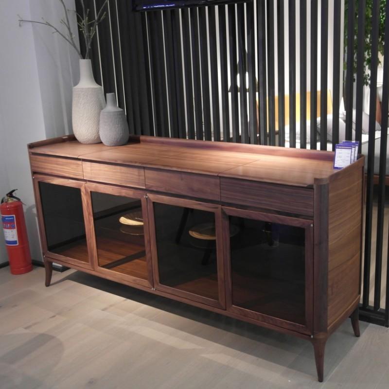 库维卡北欧风实木家具餐边柜边柜立柜1