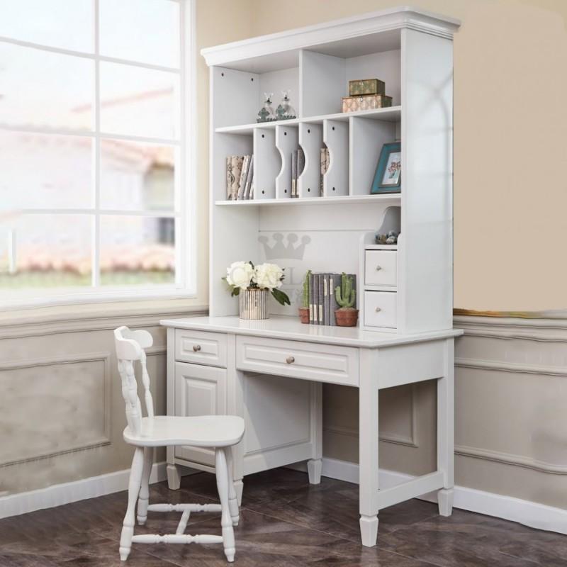 格非·夏洛特儿童实木家具书房76-XCJ-04 书架+XC-03 书桌