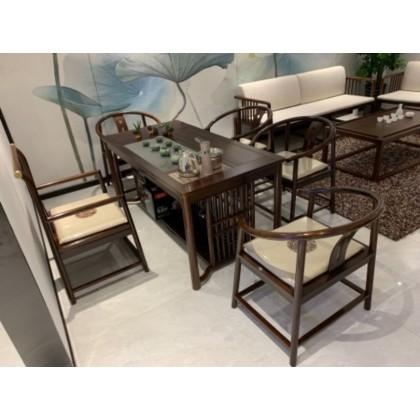 实木茶台,茶桌椅,红木家具