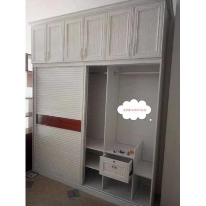全铝家具 厂家定制卧室简约全铝衣橱