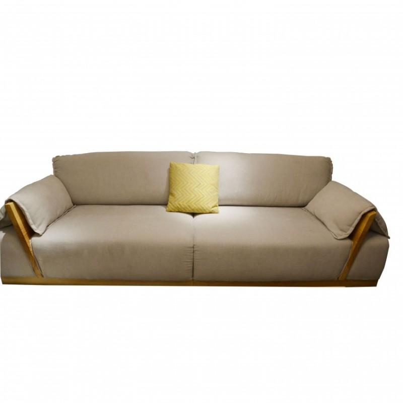 沐璨北欧风实木家具客厅沙发组合MC5002沙发