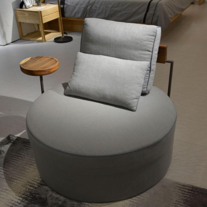 沐璨北欧风实木家具客厅沙发组合MC5005+电视柜MC7002电视柜+茶几