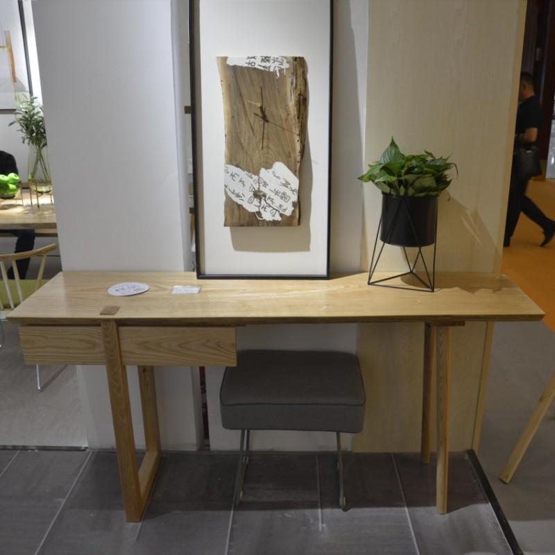 沐璨北欧风实木家具书房书桌书椅MC4102书桌