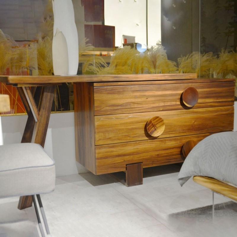 沐璨北欧风实木家具客厅卧室斗柜MC6002斗柜