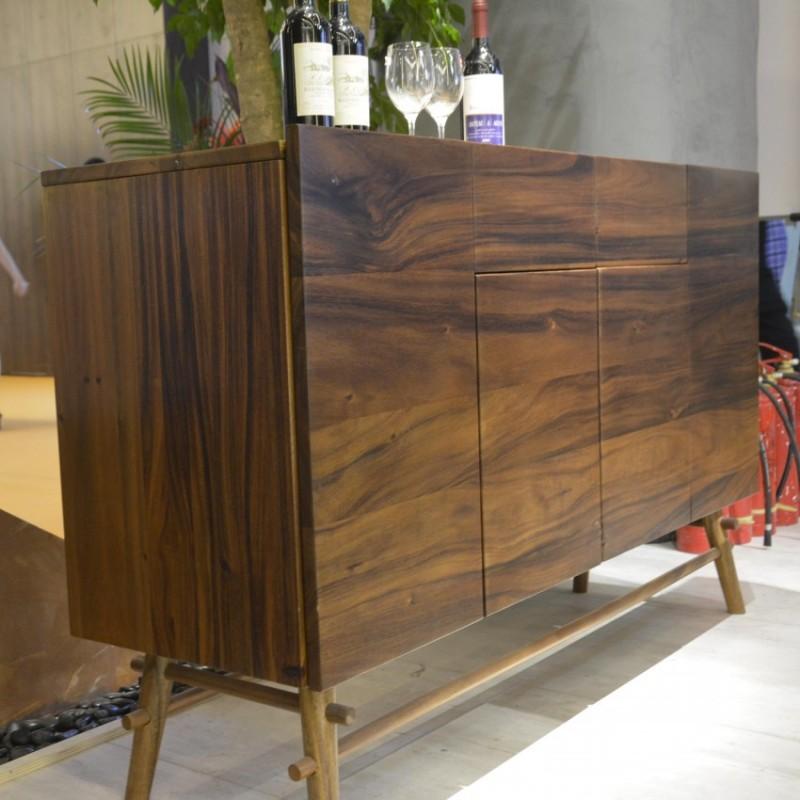 沐璨北欧风实木家具客厅卧室斗柜MC6006斗柜