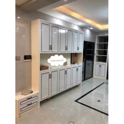 全铝家具 客厅定制全铝鞋柜 门厅柜