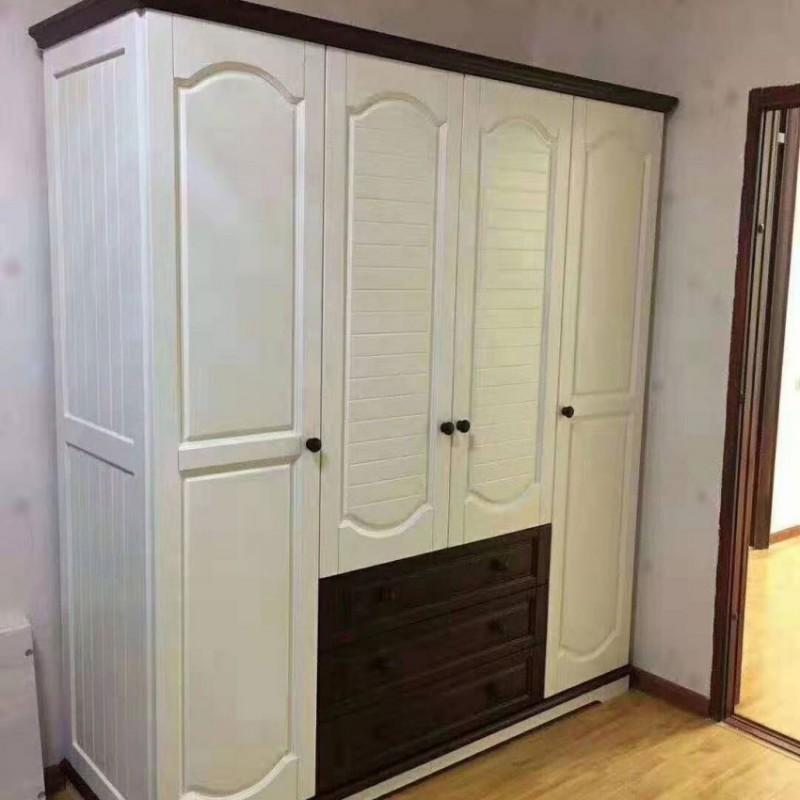 卡默洛特儿童实木套房家具实木衣柜KME009