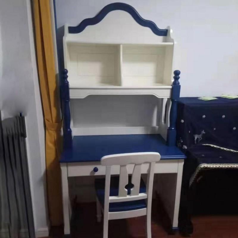 卡默洛特儿童实木套房家具儿童书桌椅KMS006