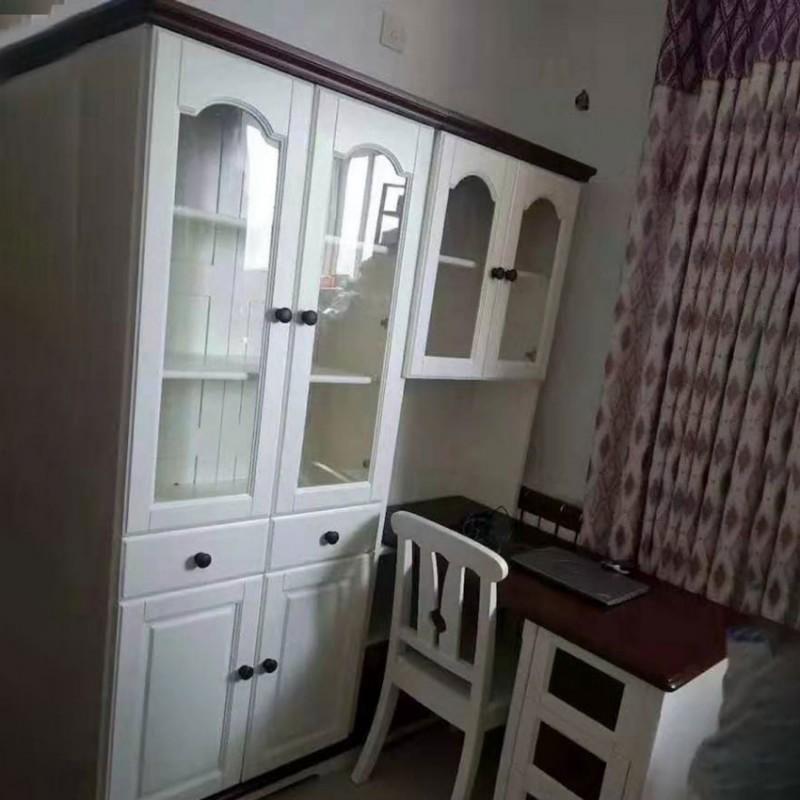 卡默洛特儿童实木套房家具儿童书桌椅KMS007+KMS011-2