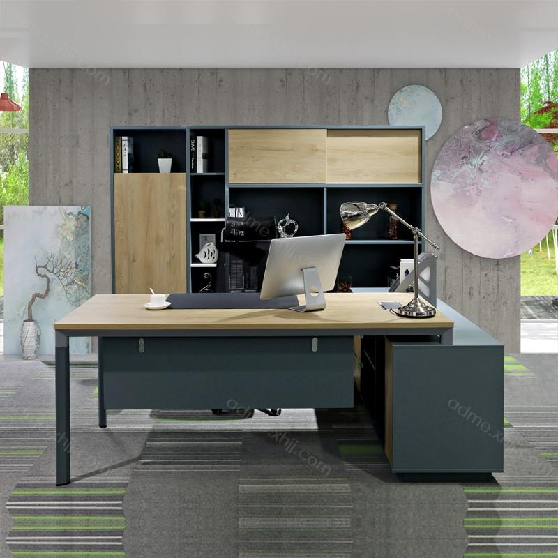 定做板式经理台办公桌 老板桌品牌812