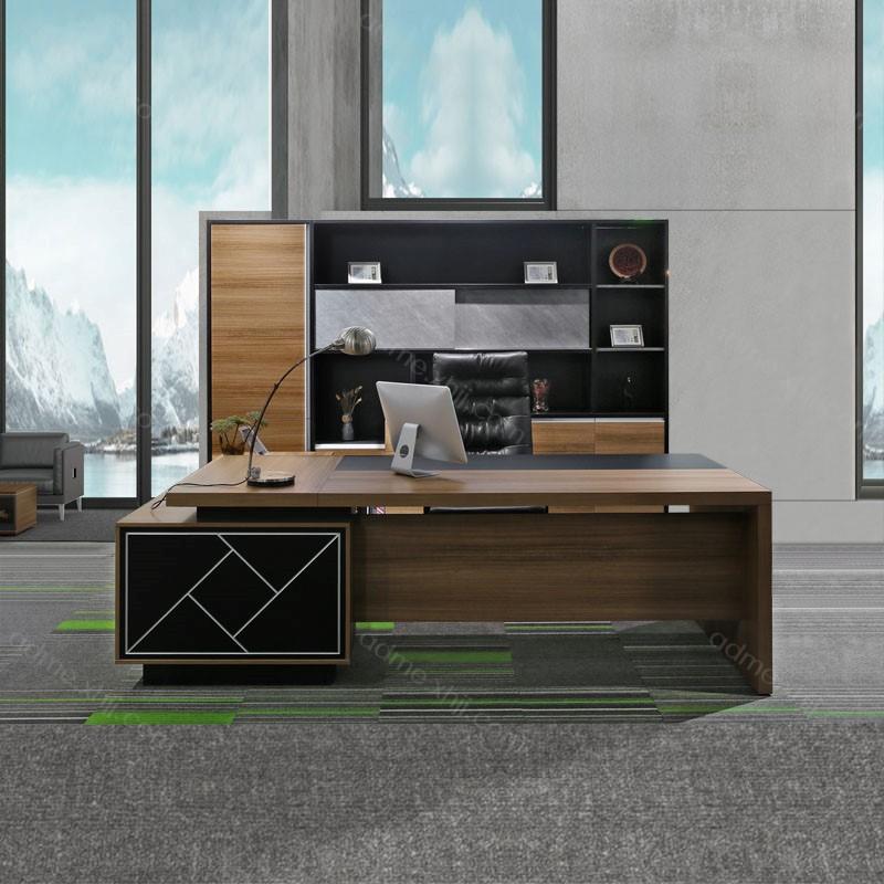 时尚现代总经理办公桌 经理台批发803