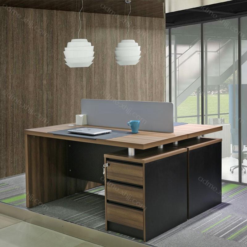 屏风隔断电脑桌 板式屏风办公桌厂家101