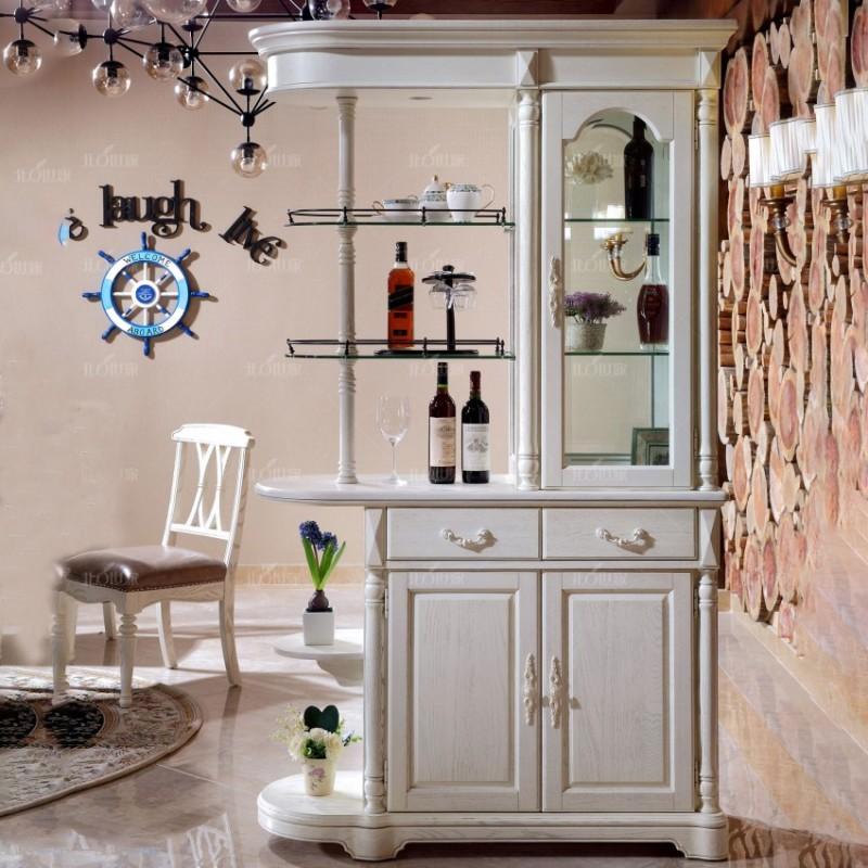 豪森北欧世家实木家具餐厅间厅柜J-701间厅柜