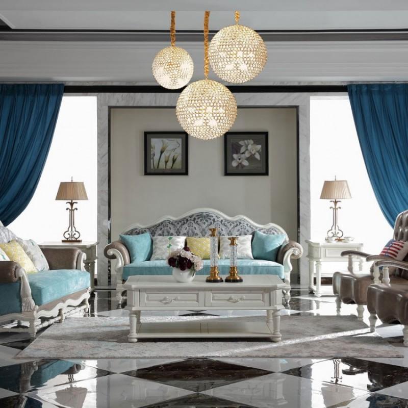 豪森北欧世家实木家具客厅沙发套J-702沙发8907皮+布
