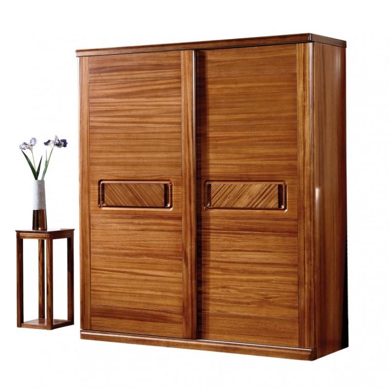 新桂铭悦池现代实木家具斗柜组合YCA02移门柜