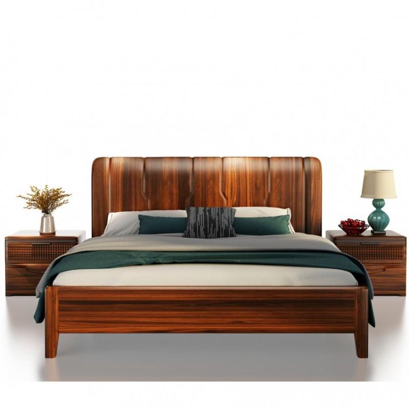 文森大赫实木家具卧室实木大床906