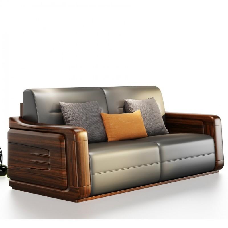 文森大赫实木家具S906沙发