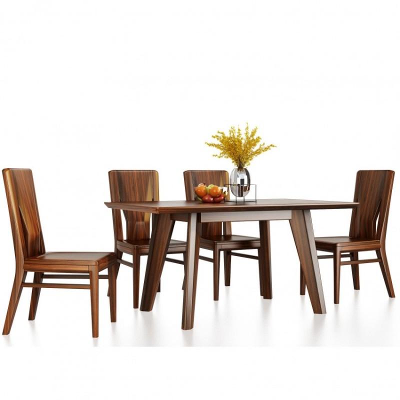 文森大赫实木家具餐厅餐桌餐椅