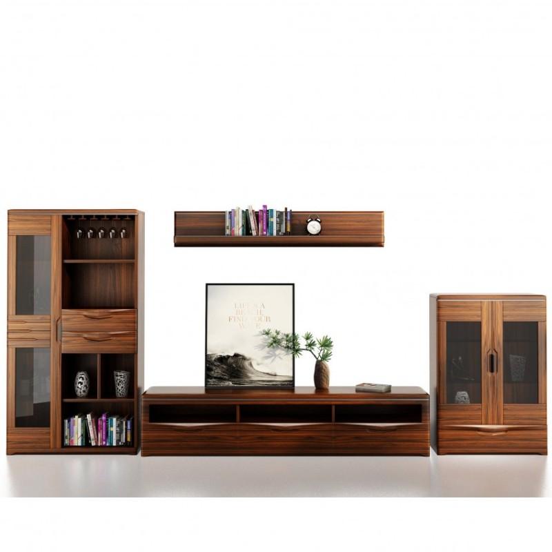 文森大赫实木家具客厅电视柜厅柜组合柜