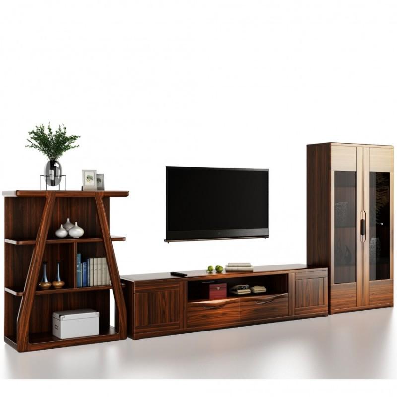 文森大赫实木家具客厅电视柜厅柜组合柜1