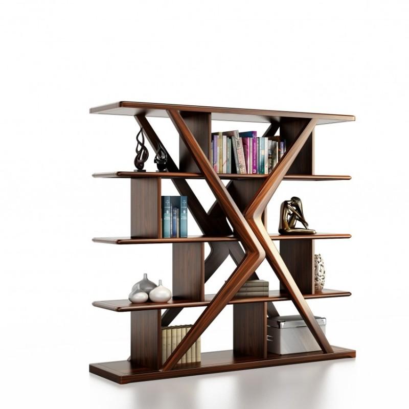 文森大赫实木家具展示架陈列柜装饰架