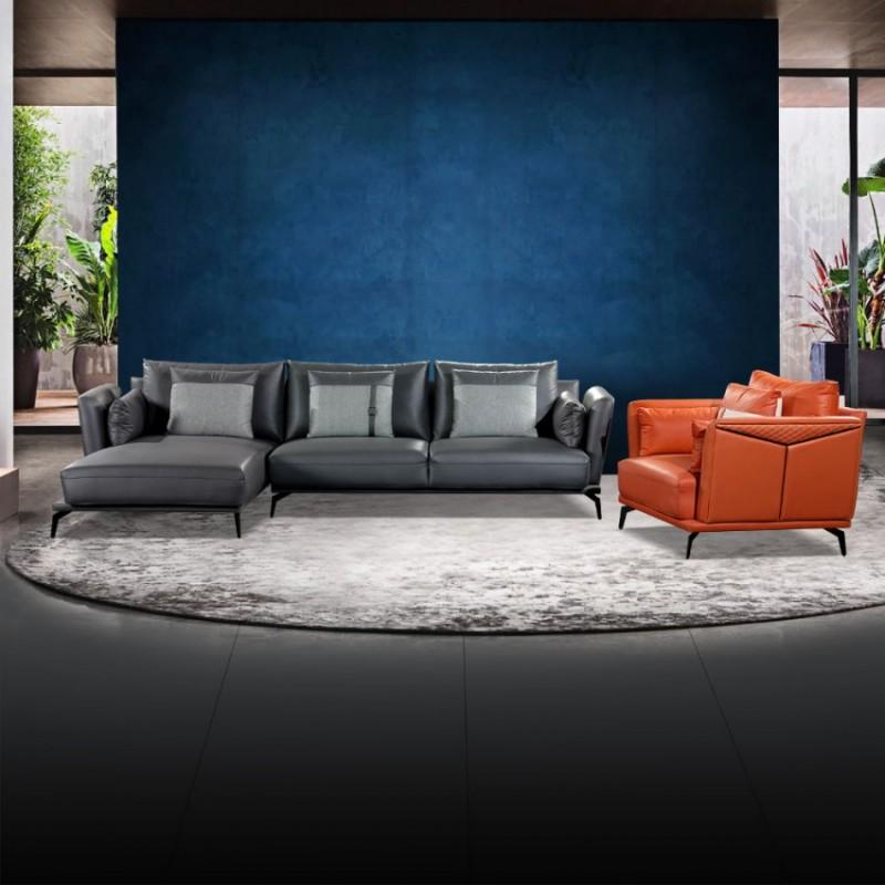转角组合沙发客厅休闲