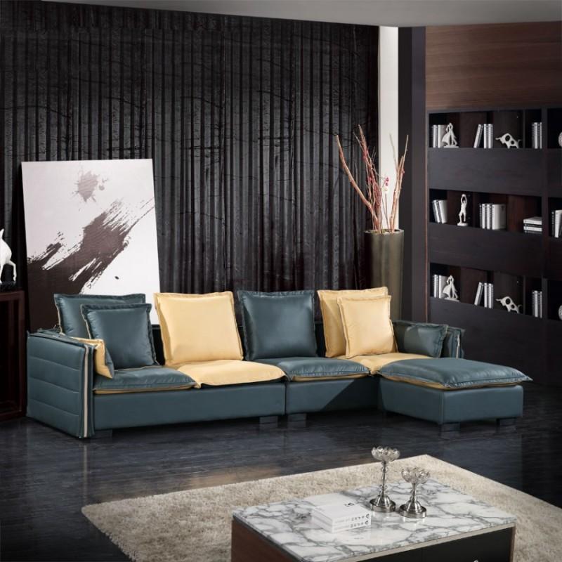小户型客厅休闲沙发品